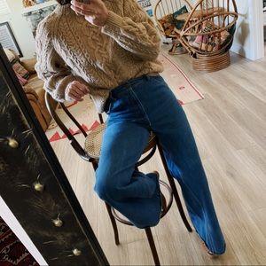 Vintage Irish fisherman wool sweater